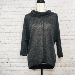 Sweaters - Womens turtle neck sweater gray grey